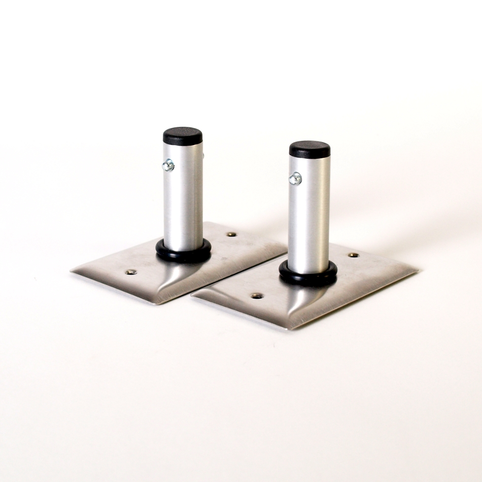 Wall and Floor Mount ( set of 2 )
