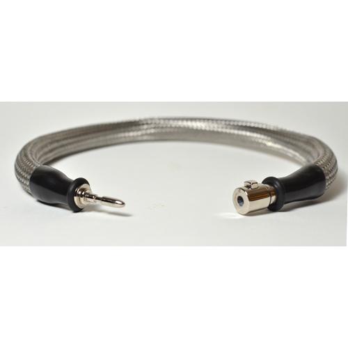 Braided Metal Non-Locking Collar. ( 3 styles )