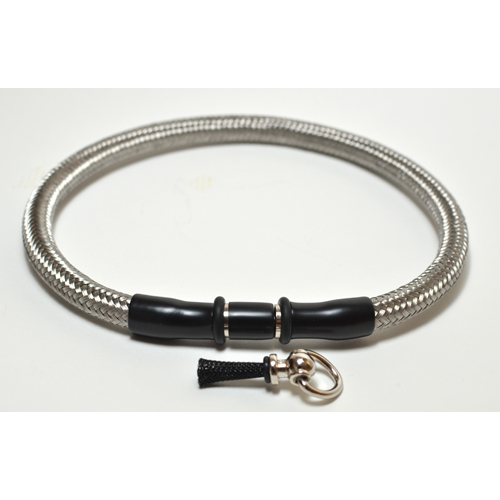 Braided Metal Locking Collar. ( 3 styles )