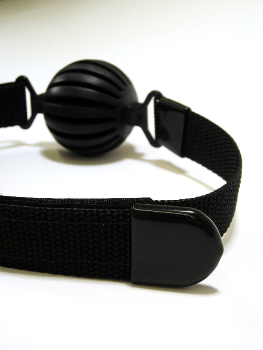 "The ""Get-A-Grip"" Ball Gag. (standard style)"