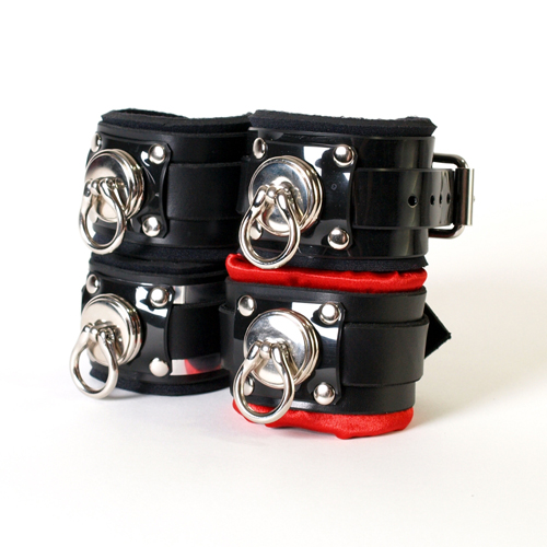 Deluxe Cuffs and Hog-Tie Combo. ( 4 styles )