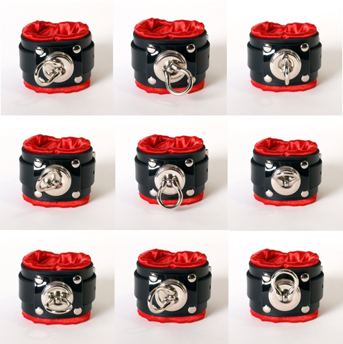 Deluxe Cuff and Collar Combo. ( 4 styles )