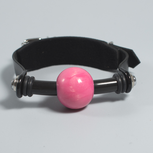 "The ""Silicon-Joy"" Ball Gag. ( deluxe with flush ends)"
