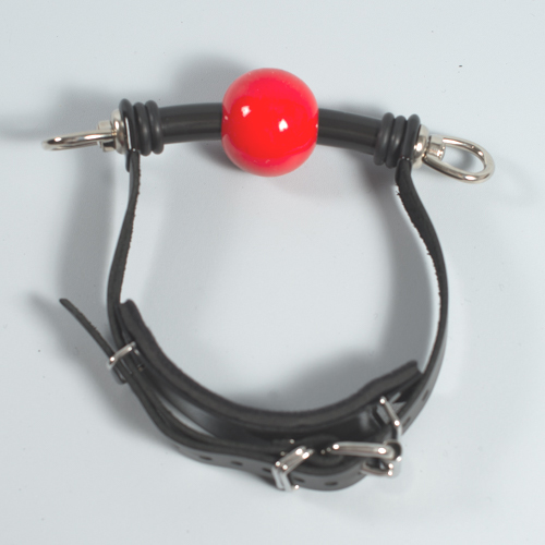 "The ""Silicon-Joy"" Ball Gag. ( deluxe with swivel eyes)"