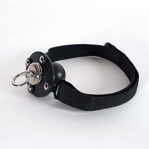Ball Gag with Tear Drop Swivel Eye. ( Standard)