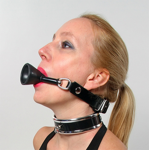 Funnel of Love Ball Gag. (quick switch)
