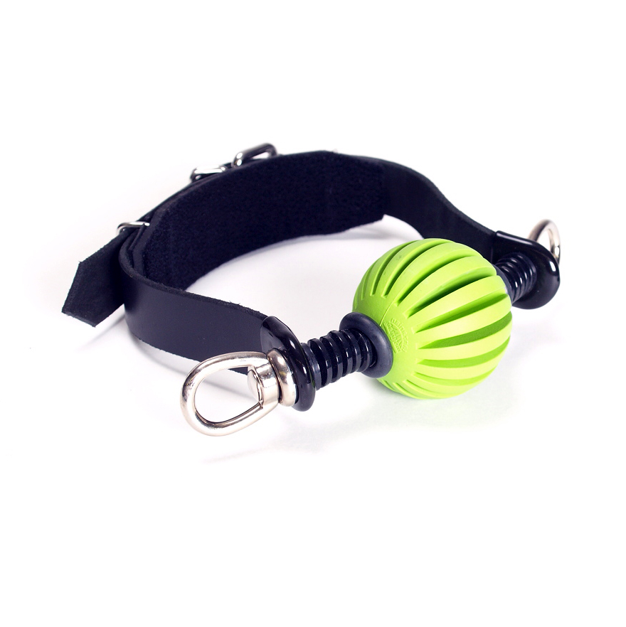 "The ""Get-A-Grip"" Ball Gag. (deluxe with swivel eyes)"
